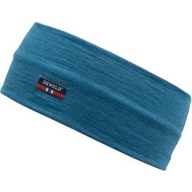 Devold Breeze Headband Damen blue melange